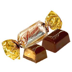 Шоколадные конфеты фирмы Рахат
