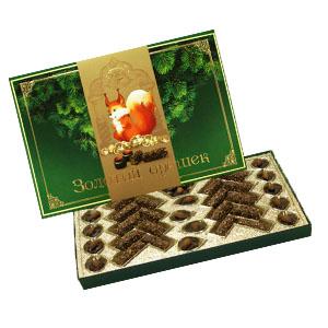 Набор конфет «Золотой орешек» рахат