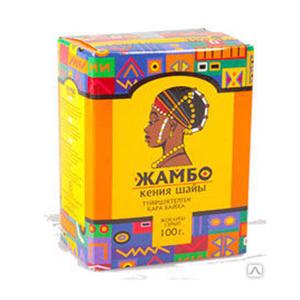 гранулированный чай Жамбо из Казахстана