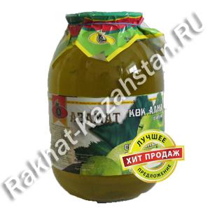 Сок Азамат Зеленое яблоко 2 литра