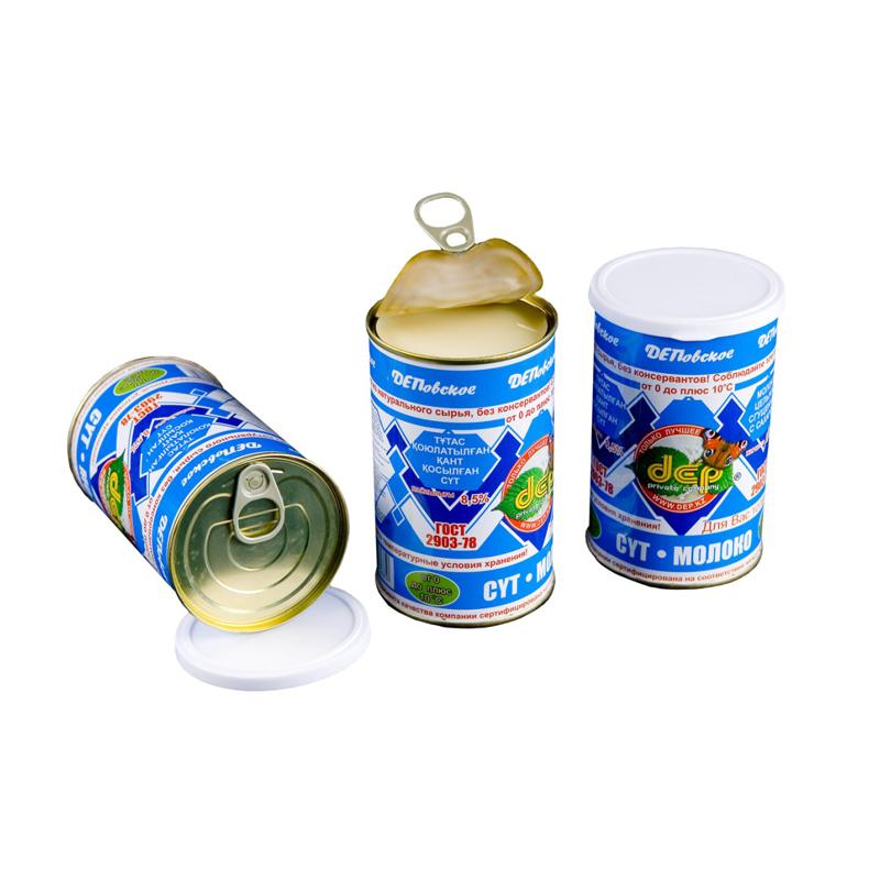 Сгущенное молоко ДЕП из Казахстана